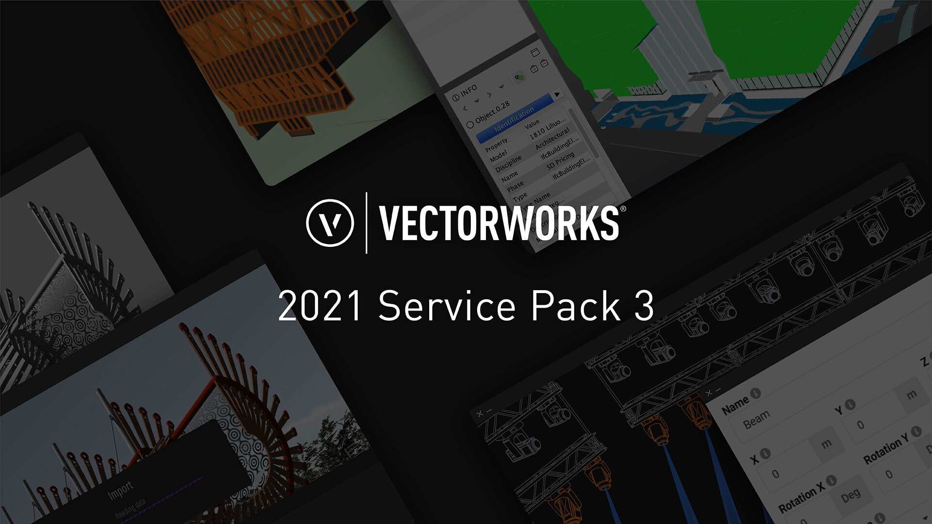 2021 Service Pack 3 (Photo: Vectorworks)