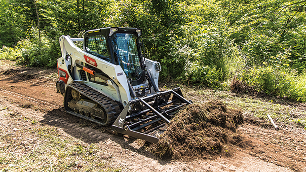 Bobcat's new M3-Series compact loader line are now available with a limited release in North America. (Photo courtesy of Bobcat)