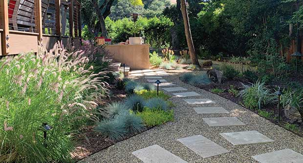 Backyard design (Photo: Eileen Kelly)