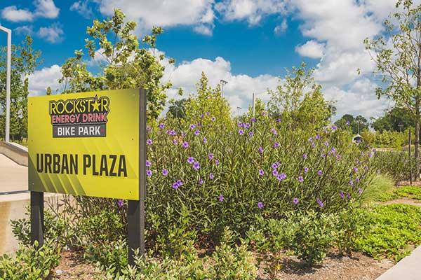 Hardscape project at BMX Park (Photo: Yellowstone Landscape)