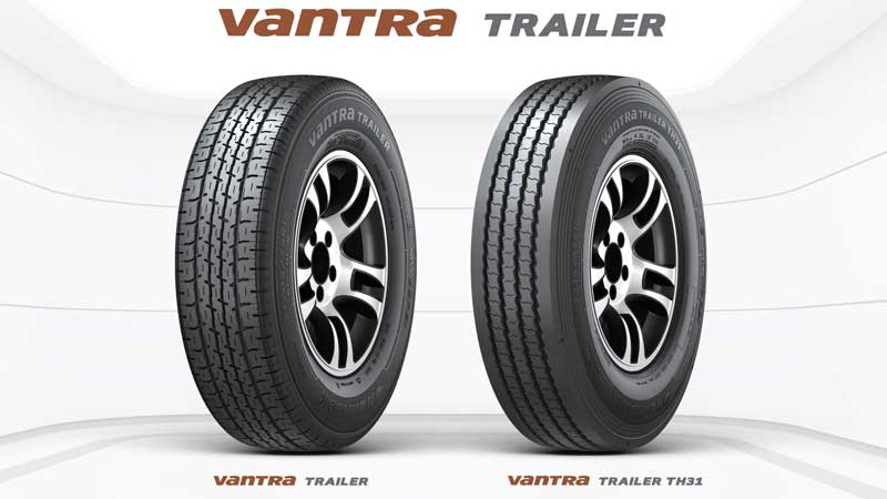 Hanook Tire's Vantra Trailer tires are designed to fit most popular trailer applications. (Photo: Hanook Tire)