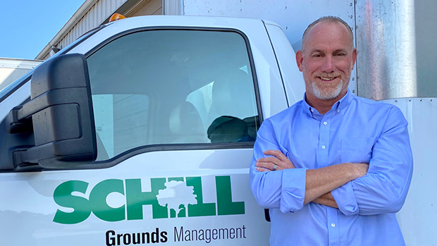 President Jerry Schill, who co-founded North Ridgeville, Ohio-based Schill Grounds Management more than 25 years ago. (Photo courtesy of Schill Grounds Management)
