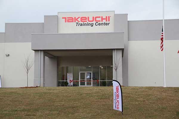 Takeuchi U.S. hosted a ribbon-cutting ceremony at its new training center. (Photo: Takeuchi-U.S.)