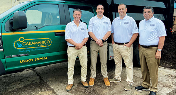 From left to right: Mike Caramanico, Bill Caramanico, John Caramanico Jr., John Caramanico Sr. (Photo: C. Caramanico & Sons)