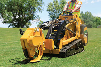 Mini skid-steer with attachment (Photo: Vermeer)