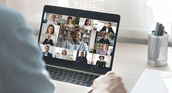 Virtual meeting (Photo: fizkes/iStock / Getty Images Plus/Getty Images)