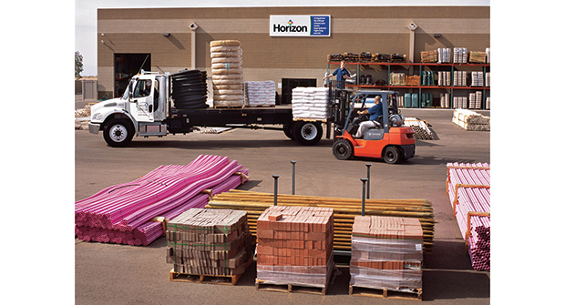 Partnering with distributors can save time on shopping around for materials. (Photo courtesy of Horizon Distributors)
