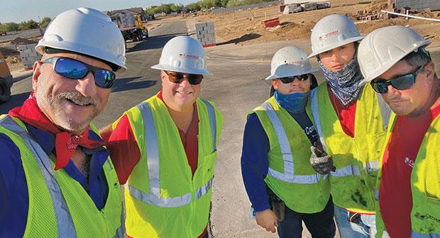 Caretaker Landscape employees (Photo: Dominique Hypolite)