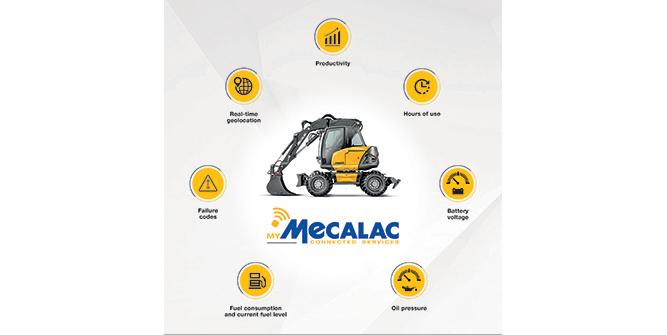 MyMecalac fleet management software. (Graphic: Mecalac)