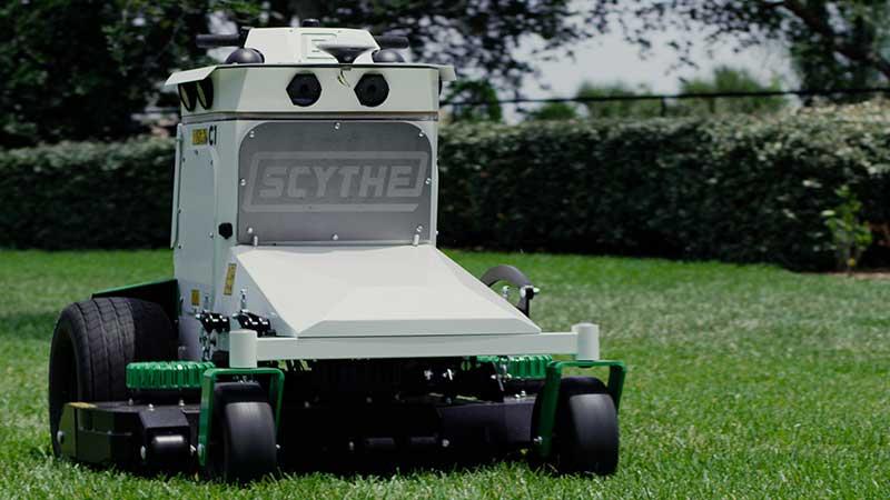 Scythe Robotics has released the company's first professional-grade autonomous mower. (Photo: Scythe Robotics)