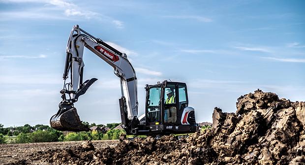 Bobcat E88 compact excavator (Photo: Bobcat)