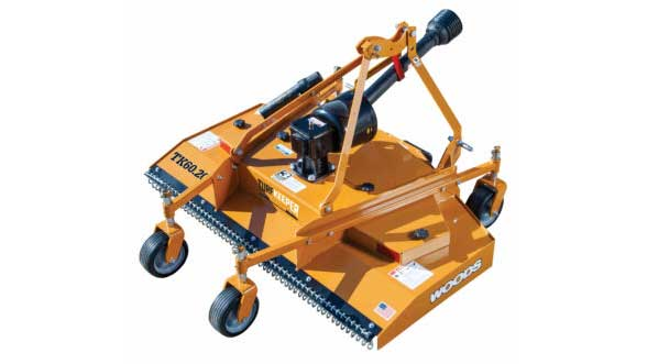 Woods Equipment Company recently added the TurfKeeper and TurfKeeper Pro rear-mount finish mowers. (Photo: Woods Equipment Company)