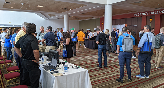 Attendees as Aspire Software's Ignite user's conference gather in Columbus, Ohio (Photo: LM Staff)