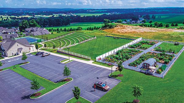 Landscape project at Tel Hai (Photo: Ruppert Landscape)