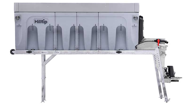 Hilltip's new 6000CM 6 cubic yard model is the largest available from the company in North America. (Photo: Hilltip)