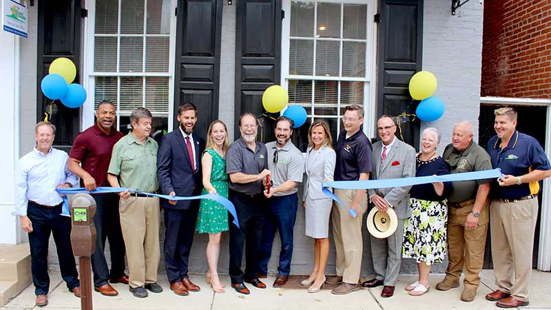 NaturaLawn of America recently opened its new National Sales Office in Frederick, Md. (Photo: NaturaLawn of America)