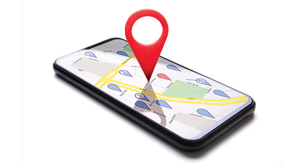 GPS tracker on phone (illustration: AndreyPopov/iStock / Getty Images Plus/Getty Images)