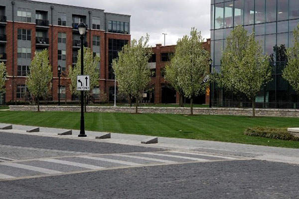 Landscape maintenance Project (Photo: Environmental Management Inc.)