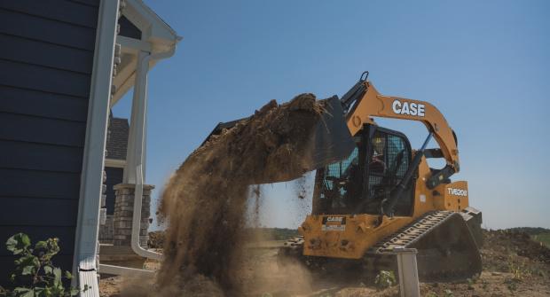 Case TV620B compact track loader (Photo: Case)