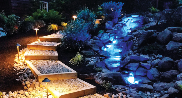 Ponds by George uses Atlantic Water Gardens' products to customize creative water features. (Photo: Ponds by George)