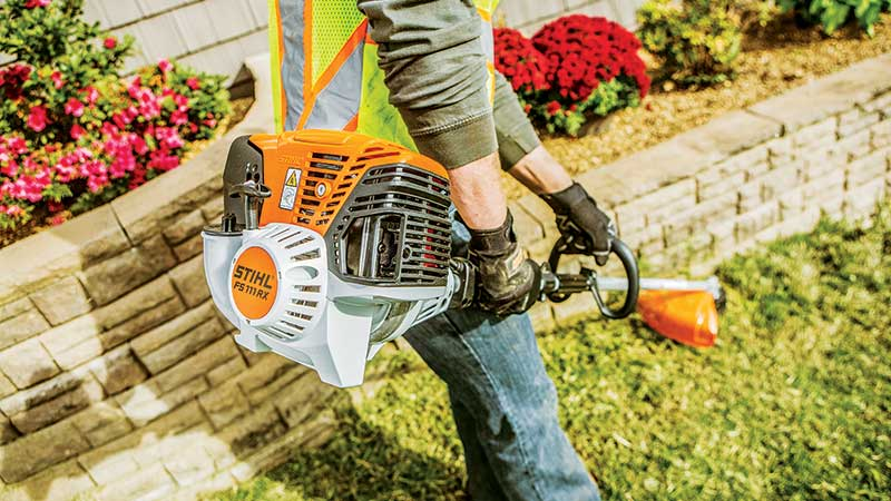 Do it or lose it Winterizing equipment in the fall helps ensure equipment is ready to go come spring. (Photo: Stihl)