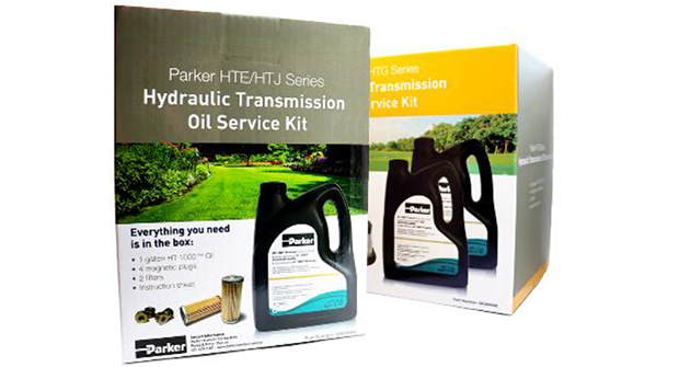 Parker service kits support hydraulic transmissions used in lawn mowers (Photo: Parker)