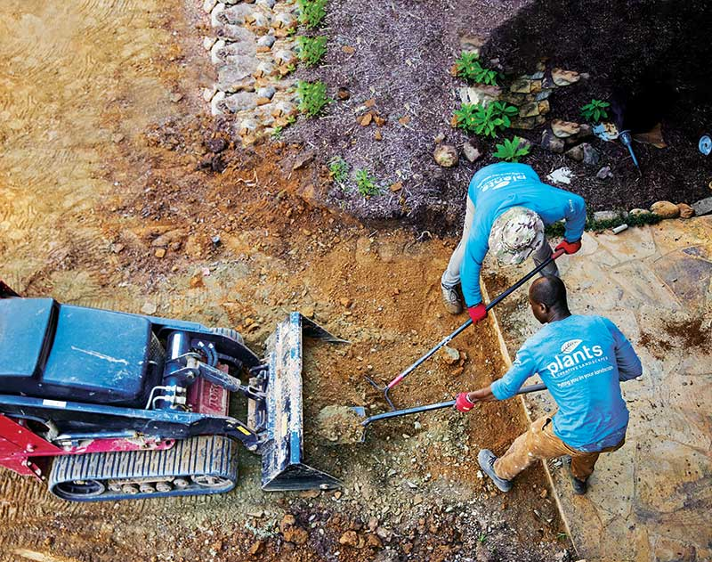 Landscapers say the nonstop demand for work and the lack of workers is like a sports car out of gas. (Photo: Chris Aluka Berry)