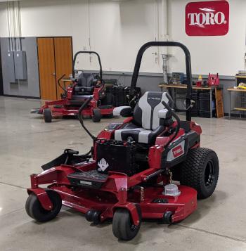 Toro Revolution Z-Master (Photo: LM Staff)