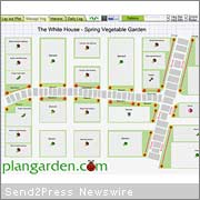 ... Broke Ground For The White House Vegetable Garden, Plangarden Released  An Online Interactive Version Of The Obamau0027s Organic Garden Layout.
